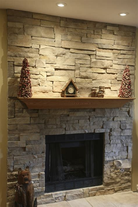 stacked for fireplace stacked stone fireplaces ideas kvriver com