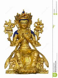 Tibetan Buddhism statue stock photo. Image of antiques ...