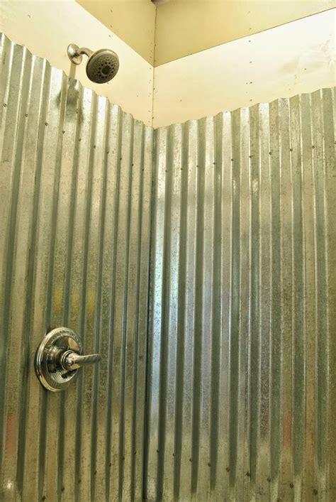 galvanized shower walls google search bathroom