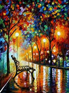 Autumn, Abstract, Painting, Pictures, Photos, And, Images, For