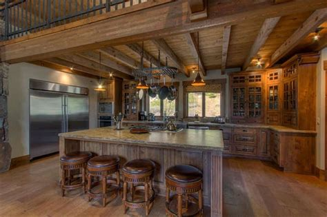 Kitchen Island Designs Rustic by 35 Beautiful Rustic Kitchens Design Ideas Designing Idea