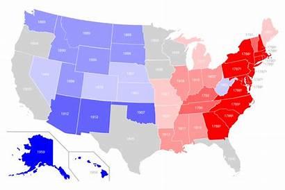 States Statehood Dates Date Svg Wikimedia Rwb