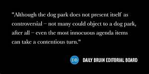 Editorial: Westwood Parks Advisory Board must better ...