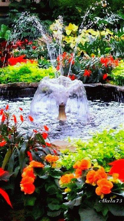 Animated Fountain Decent Scraps Garden Moving Water