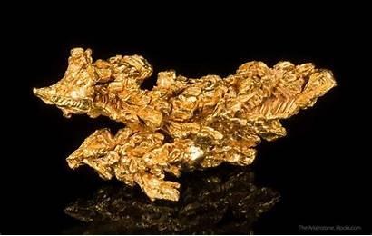 Gold Mineral Minerals Specimen Brazil Crystals Fine