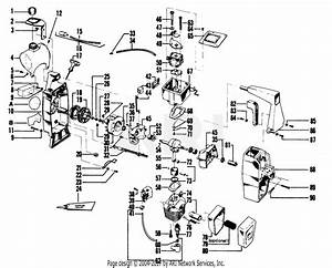 Poulan 2215 Gas Trimmer Parts Diagram For Engine Block