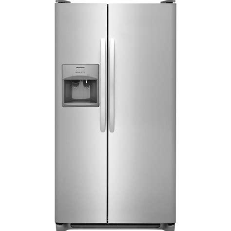 Frigidaire 255 Cu Ft Side By Side Refrigerator In