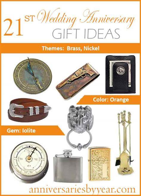 21st Anniversary Twentyfirst Wedding Anniversary Gift Ideas