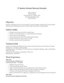 Technical Skills Resume Exles by Technical Skills On A Resume Resume Exles 2017