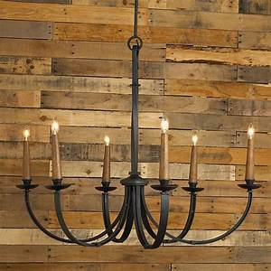 Rustic, Iron, Chandelier, Lighting