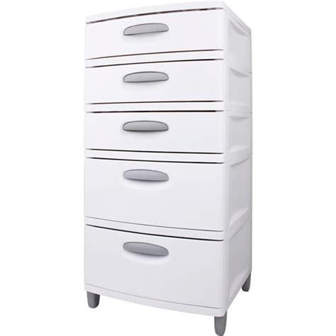 Sterilite 4 Drawer Cabinet Black by Sterilite 5 Drawer Storage Unit Walmart Com