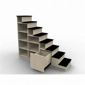 Escalier Sur Mesure Prix : biblioth que escalier pour mezzanine ~ Edinachiropracticcenter.com Idées de Décoration