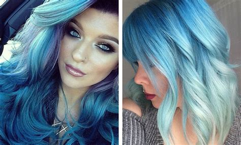 Colored Hair Ideas by 29 Blue Hair Color Ideas For Daring Stayglam