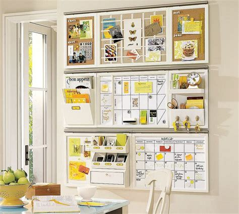 Pottery Barn Wall Decor Kitchen by Wall Organizer Idea From Pottery Barn Organization