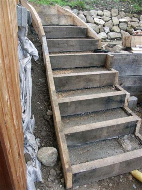 marche d escalier exterieur comment faire des marche d escalier en d exterieur