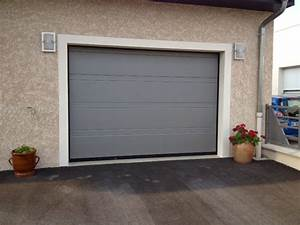 porte de garage sectionnelle motorisee hormann a lyon With porte de garage sectionnelle hormann