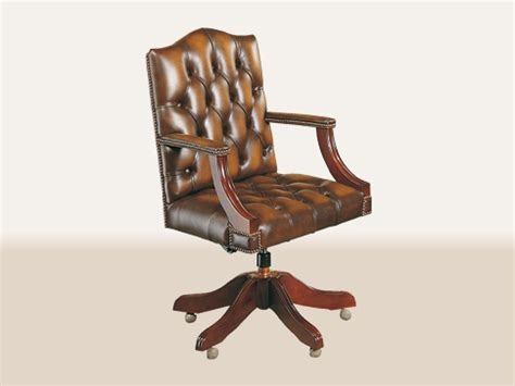 chaise de bureau chesterfield