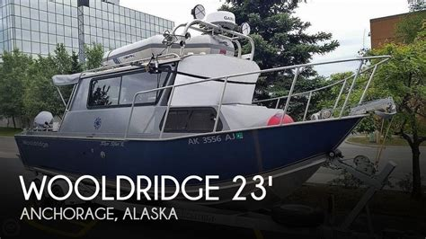 Used Outboard Motors For Sale Anchorage Alaska by For Sale Used 2007 Wooldridge 23 Ss Pilot House In