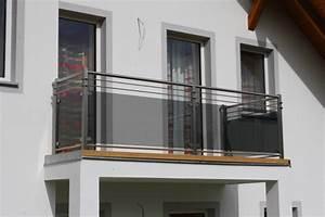Balkongeländer Glas Anthrazit : edelstahl gel nder ~ Michelbontemps.com Haus und Dekorationen