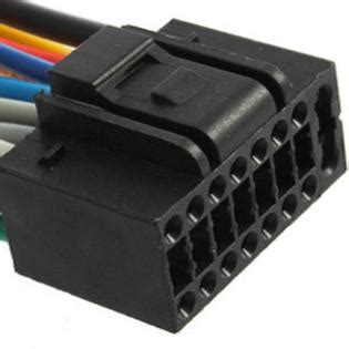 Hqrp Pin Wiring Harness Cable For Kenwood Kdc