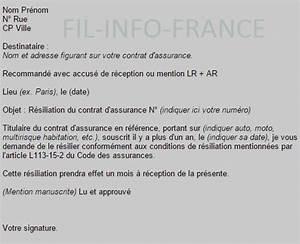 Résiliation Contrat Assurance Voiture : modele resiliation assurance juridique document online ~ Gottalentnigeria.com Avis de Voitures