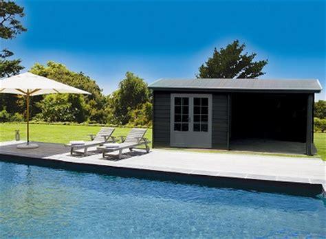 Pool House En Kit Cabanon De Jardin En Kit 224 Partir De Lames Composites Les Explications De Abris