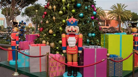 downtown disney disneyland resort reveals holiday