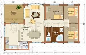plan maison en longueur qui dessine un rectangle de 4 With construire sa maison 3d 4 demeure spacieuse detail du plan de demeure spacieuse
