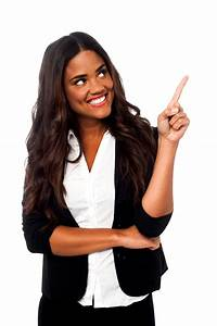 Women Pointing Right Free Commercial Use PNG Images | PNG Play