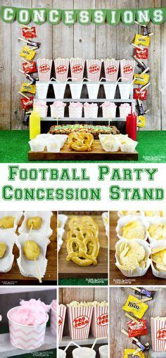 Food School Concession Stand Ideas High