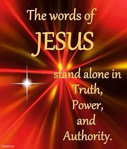 The Words Of Jesus Pictures, Photos, and Images for ...