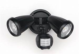 titan 2 light 2 x 6w led adjustable exterior spot light With outdoor sensor lights brisbane