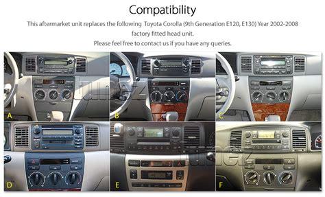2008 Toyotum Corolla Radio Wiring by Car Dvd Usb Player Mp3 Radio For Toyota Corolla 2002 2008