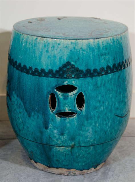 pair of antique ceramic garden stools at 1stdibs