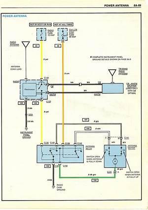 gm power antenna wiring diagram  3520archivolepees