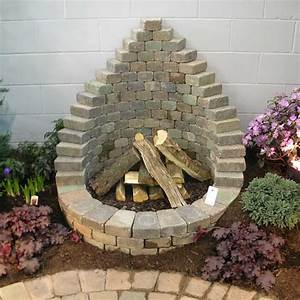 How, To, Be, Creative, With, Stone, Fire, Pit, Designs, Backyard, Diy
