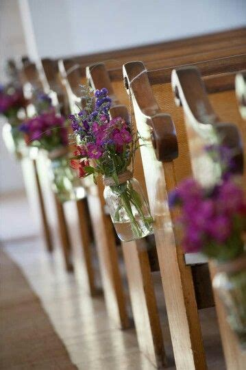 Creative Church Wedding Decorations Wedding Aisle
