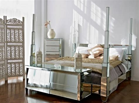 Mirrored Bedroom Furniture In A Small Bedroom