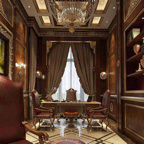 Executive and presidential classic style office projects ...