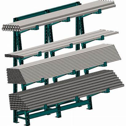 Bar Racking Rack Barstock Systems Loaded Specialty