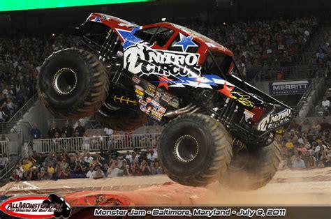monster truck jam baltimore baltimore maryland monster jam july 9 2011