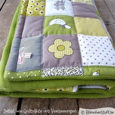 Decken Selber Nähen by Krabbeldecken Decke Quot G 228 Nse Quot Quilt Junge M 228 Dchen