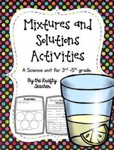 mixtures  solutions images science penguin