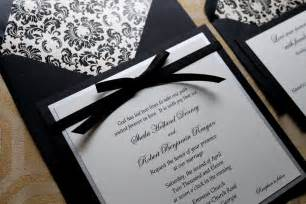 black and white wedding invitations black and white wedding invitations lilbibby