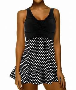 Daxon Maillot De Bain : maillot de bain 1 pi ce robe jupette femme lyly ~ Melissatoandfro.com Idées de Décoration