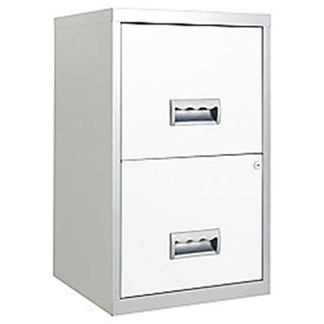Buy Pierre Henry A4 2 Drawer Maxi Filing Cabinet, Silver