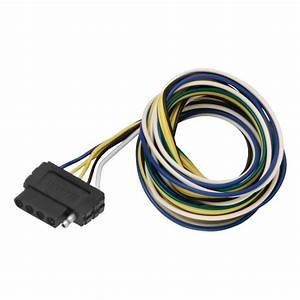 6ft Flat 4 Wire Harnes Extension