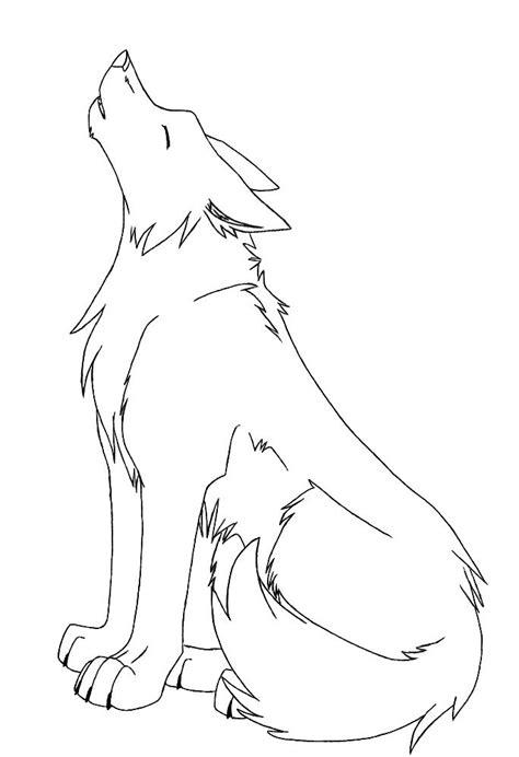 anime wolf drawing ideas  pinterest