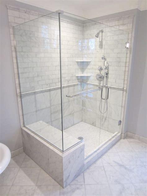 bathroom bench ideas fabulous shower bench seat ideas with glass door marble floor