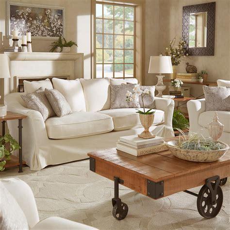 down filled slipcovered sofa homesullivan sydney 1 piece off white down filled